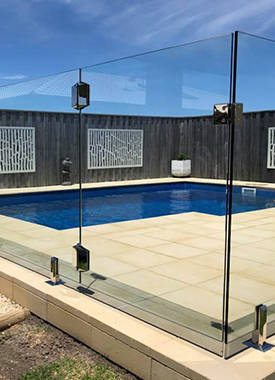 DIY Glass Pool Fences