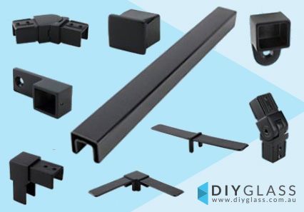 40x30mm Slotted Rectangle Top Mount Rail