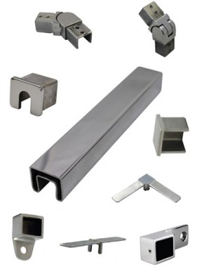25x21mm Rectangle Top Rail