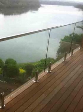 Deck Mount Glass Balustrade Diy Glass