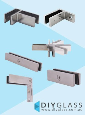 Stainless Steel Glass Bracing Clamps