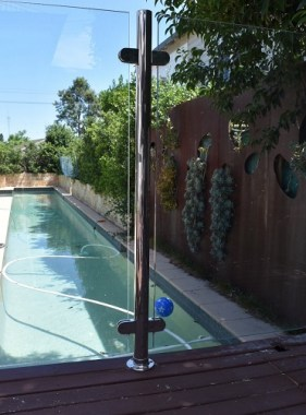 Stainless Post for Glass Pool Fence