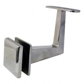 Square Offset Fixed Balustrade Handrail Bracket