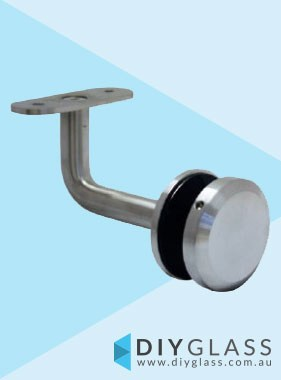 50mm Diameter Round Offset Fixed Bracket
