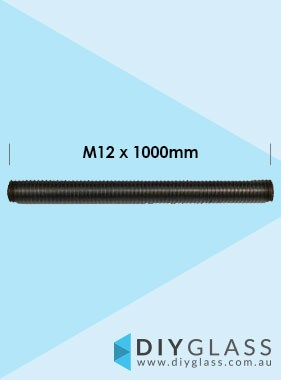 M12 x 1000mm Threaded Rod