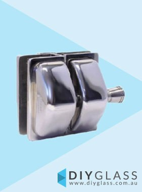 Glass to Glass in Straight Line Deluxe Pool Fence Gate Latch
