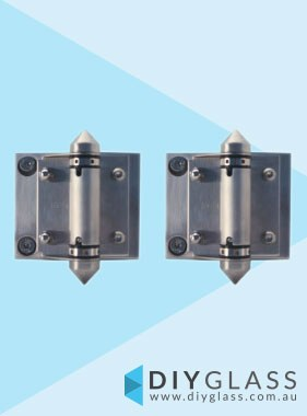 Glass to Glass Pool Fence Gate Hinge Set