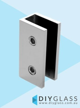Wall Bracket - Chrome Plated -  For Shower Screen