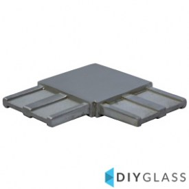 50x10mm 90 Degree Joiner for Glass Offset Rail