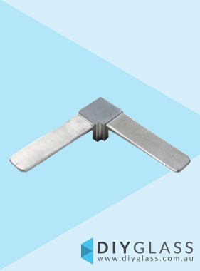 25x21mm 90 Degree Joiner for Glass Top Rail