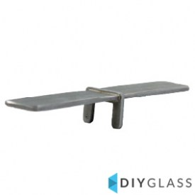 25x21mm In-Line Joiner for Glass Top Rail