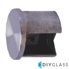 38mm End Cap for Glass Top Rail