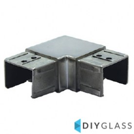 40x30mm 90 Degree Joiner for Glass Top Rail