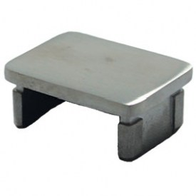 40x30mm End Cap for Glass Top Rail
