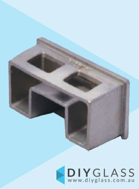 54x30mm End Cap for Glass Top Rail