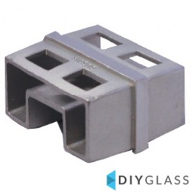 54x30mm In-Line Joiner for Glass Top Rail
