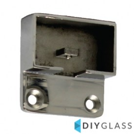 54x30mm Wall Plate for Glass Top Rail