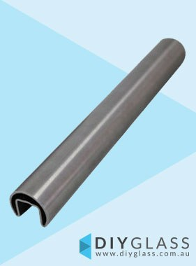 25mm 2900mm Long Glass Top Rail Tube
