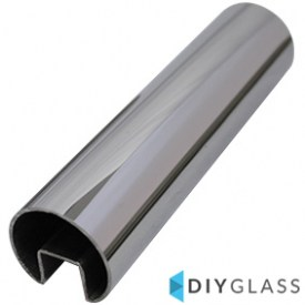 38mm 2900mm Long Glass Top Rail Tube