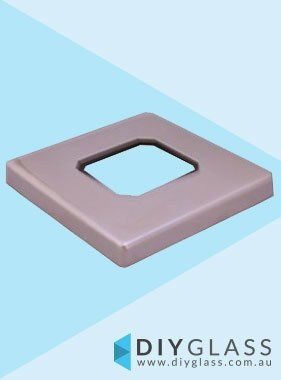 Square Cover for Square Base Plated Spigot