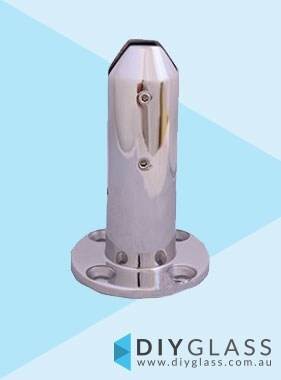 Round Base Plated Stainless Spigot for Glass Balustrade